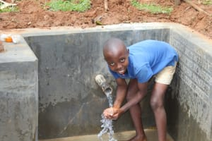 The Water Project: Ebutindi Community, Tondolo Spring -  Smiles At The Spring
