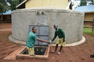 The Water Project: Friends School Mutaho Primary -  Cheers To Clean Water