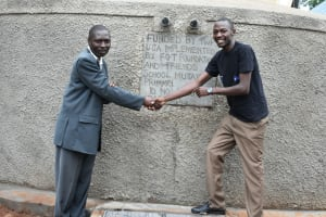 The Water Project: Friends School Mutaho Primary -  The Official Handing Over Ceremony