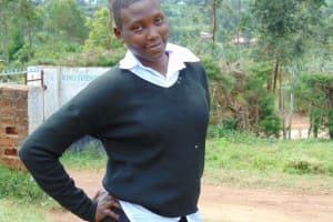 The Water Project: Kinu Friends Secondary School -  Student Angeline