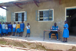 The Water Project: Lwombei Primary School -  Students In Class