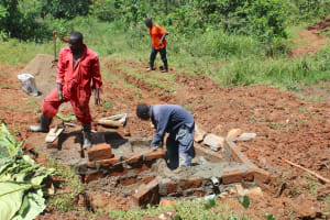 The Water Project: Shisere Community, Richard Okanga Spring -  Measuring Progress