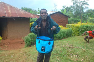 The Water Project: Shisere Community, Richard Okanga Spring -  Happy To Have Clean Safe Water