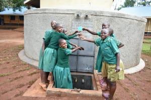 The Water Project: Friends School Mutaho Primary -  Splash