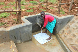 The Water Project: Ebutindi Community, Tondolo Spring -  Happy Day At The Spring