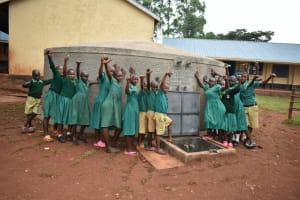 The Water Project: Friends School Mutaho Primary -  Hands Up For Clean Water