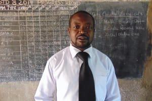 The Water Project:  Teacher Mr Walter Mulusa