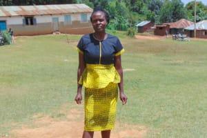 The Water Project: St. Kizito Kimarani Primary School -  Deputy Head Teacher Ms Sally Liguzi