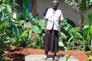 The Water Project: Ebutindi Community, Tondolo Spring -  Proud New Owner Of A Sanitation Platform