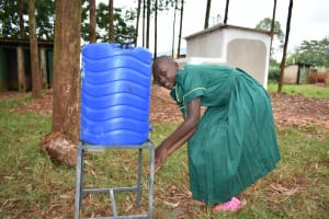The Water Project: Friends School Mutaho Primary -  Handwashing