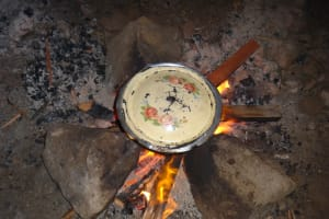 The Water Project: St. Michael Mukongolo Primary School -  Food Cooking Inside Kitchen