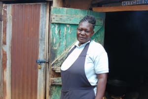 The Water Project: Kinu Friends Secondary School -  School Cook