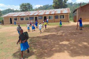 The Water Project: Lwombei Primary School -  Students On Break