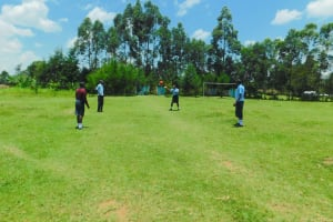 The Water Project: Friends School Vashele Secondary -  Students Playing On Playground