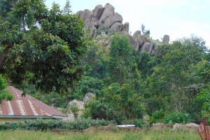 The Water Project: Gidimo Primary School -  Rocky Landscape