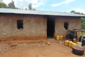 The Water Project: Lwombei Primary School -  Kitchen