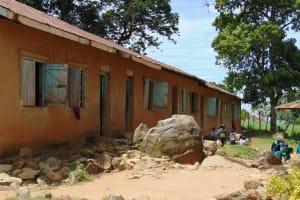 The Water Project: St. Kizito Kimarani Primary School -  Classrooms