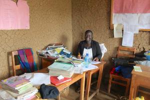 The Water Project: Sawawa Secondary School -  Senior Teacher Mrs Everlyne Andisi