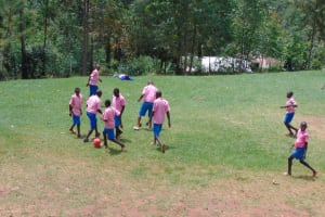 The Water Project: Gidimo Primary School -  Boys Playing On The Playground