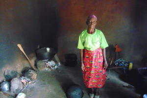 The Water Project: Lwombei Primary School -  School Cook Inside The Kitchen