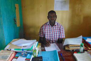 The Water Project: St. Kizito Kimarani Primary School -  Head Teacher Mr Rotich Joshua