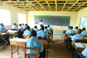 The Water Project: Friends School Vashele Secondary -  Students In Class
