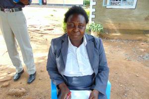 The Water Project: Boyani Primary School -  Deputy Head Teacher Mrs Gladys Owaga