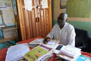 The Water Project: Givudemesi Primary School -  Head Teacher Mr Kassim Ahonge