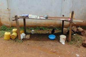 The Water Project: Jinjini Friends Primary School -  Dishrack