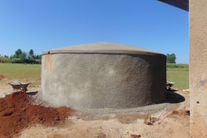 The Water Project: Sikhendu Primary School -  Curing Tank