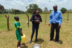 The Water Project: Sikhendu Primary School -  Discussing Handwashing