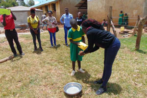 The Water Project: Sikhendu Primary School -  Handwashing Demonstration