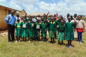 The Water Project: Sikhendu Primary School -  Students Who Attended The Training