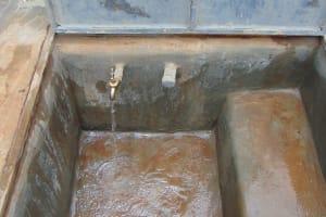 The Water Project: Sikhendu Primary School -  Water Flowing