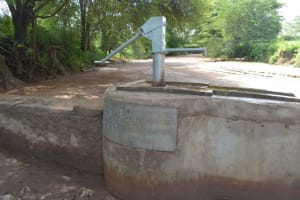 The Water Project: Tulimani Community A -  Completed Well