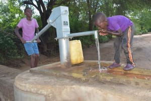 The Water Project: Tulimani Community A -  Drinking Well Water