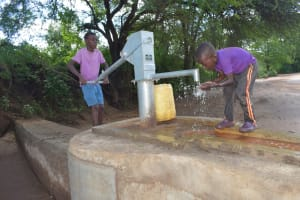 The Water Project: Tulimani Community A -  New Well