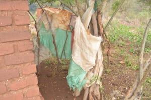 The Water Project: Kasioni Community B -  Bathroom