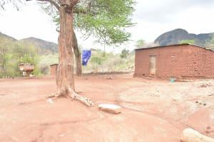 The Water Project: Kasioni Community B -  Compound