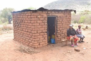 The Water Project: Kasioni Community B -  Kitchen Building