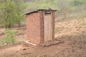 The Water Project: Kasioni Community B -  Latrine