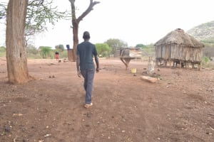 The Water Project: Kasioni Community B -  Walking Around Compound