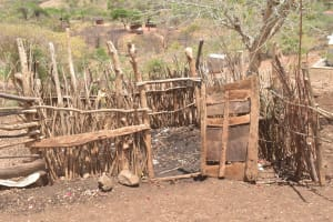 The Water Project: Kasioni Community C -  Animal Pen