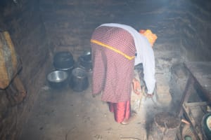 The Water Project: Kasioni Community C -  Cooking