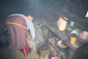 The Water Project: Kasioni Community C -  Inside Kitchen