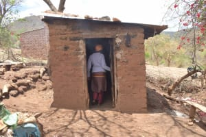 The Water Project: Kasioni Community C -  Kitchen Building