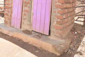 The Water Project: Kasioni Community C -  Latrine