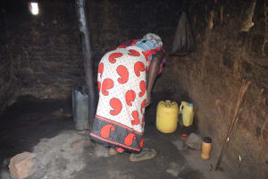 The Water Project: Nzimba Community A -  Inside Kitchen