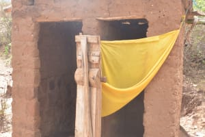 The Water Project: Nzimba Community A -  Latrine