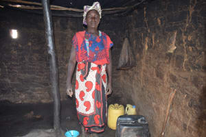 The Water Project: Nzimba Community A -  Standing In Kitchen